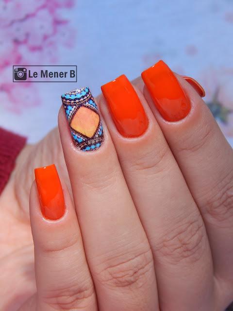 nail-art-laranja