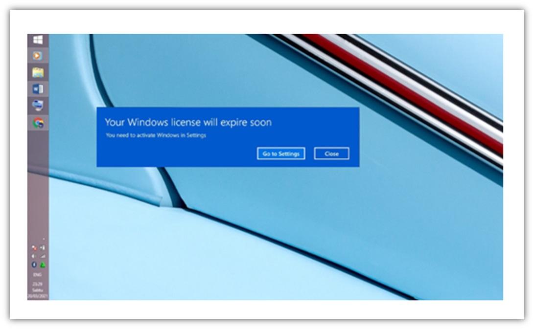 Cara Mudah Mengatasi Your Windows License Will Expire Soon 100% Work