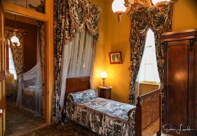 Charles' Bedroom at San Francisco Plantation.