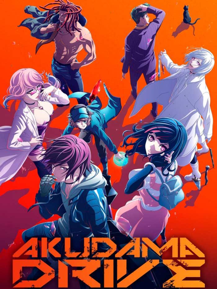 Akudama Drive anime - Selecta Visión