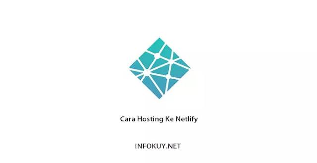 Cara Hosting Ke Netlify