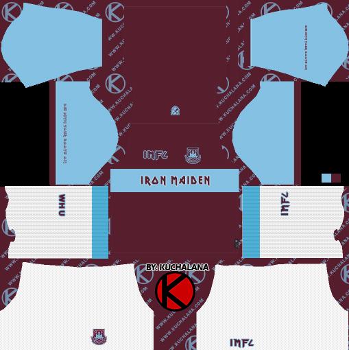 West Ham x Iron Maiden 2019 Special Kit - Dream League ...