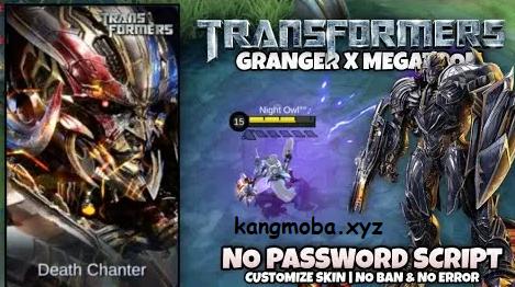 Script Skin Granger Megatron Full Effect No Password Mobile Legends