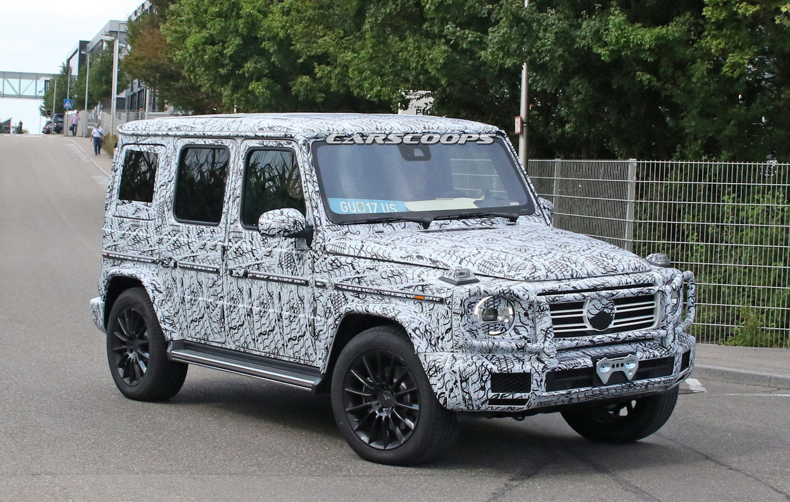 2019 mercedes amg g class spotted with production lights. Black Bedroom Furniture Sets. Home Design Ideas
