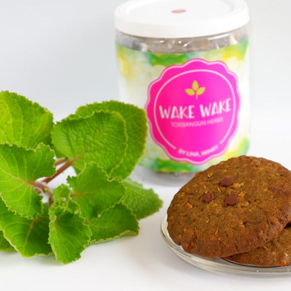 Wake Wake Cookies, Booster ASI dalam kepingan Coklat