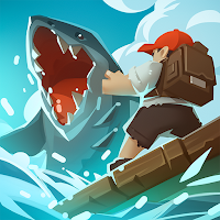 Epic Raft: Fighting Zombie Shark Survival Mod Apk