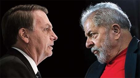 Eleições: Lula ultrapassa Bolsonaro pela 1ª vez em cenário para 2022
