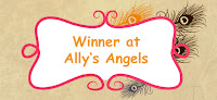 I won at Ally's Angels challenge!