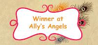 I won at Ally's Angels challenge!