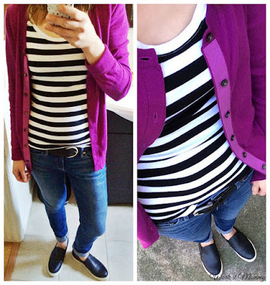 styling a Gap cardigan from thredUP