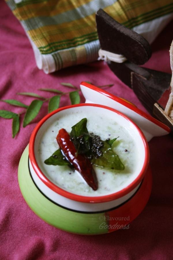 Cucumber Pachadi
