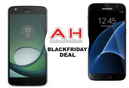 الجمعة السوداء : فيريزون Galaxy S7 بـ 10$/في الشهر, Moto Z Play مجاناً