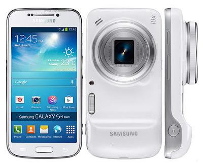 Kamera Android Samsung Galaxy S4 zoom