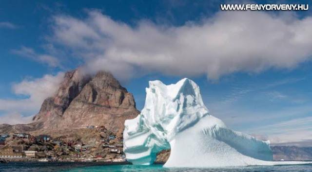 Kétmilliárd tonna jég olvadt el egy nap alatt Grönlandon