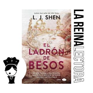 reseña del libro el ladrón de besos de l j shein