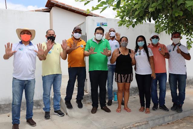 Em visitas de campanha, Ramon e Selcina, junto com os demais candidatos do Republicanos, recebem apoio de toda população Viçosense