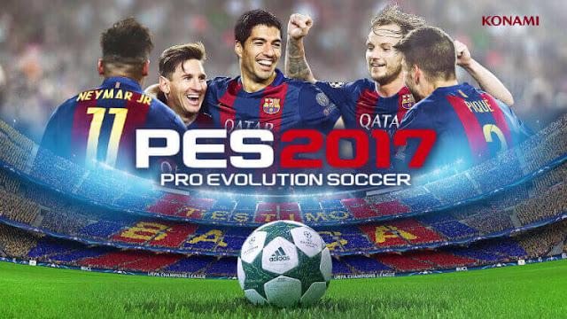تحميل لعبة بيس برو إيفولوشن 2017 للأندرويد PES2017