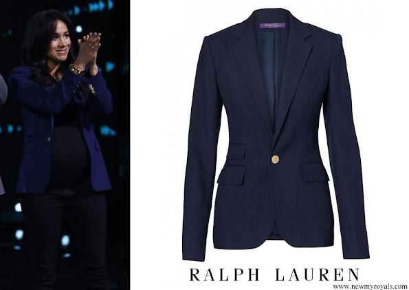 Meghan Markle wore Ralph Lauren Parker Cashmere Jacket