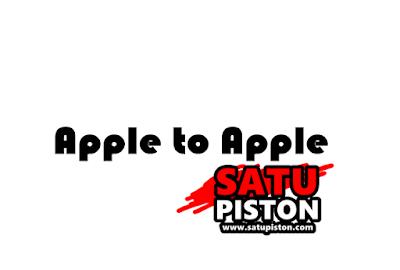 Arti Apple to Apple Pada Motor