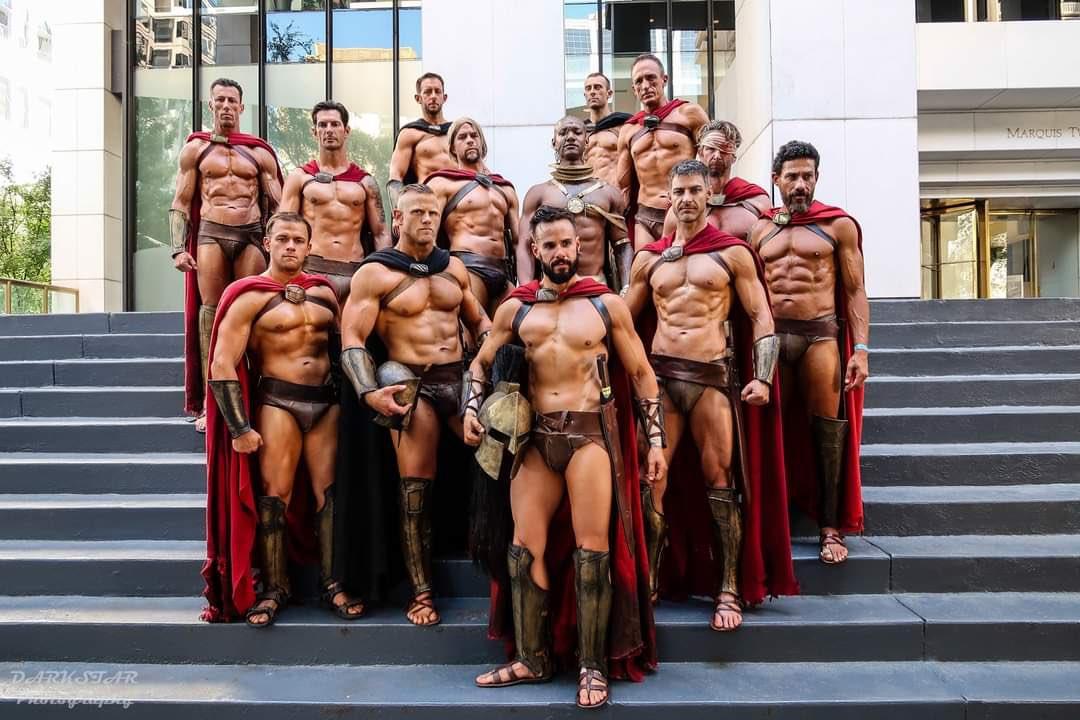 soldados romanos desnudos
