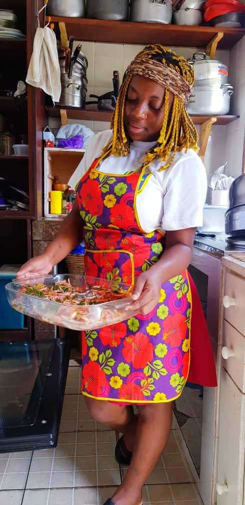 Portrait: Germina OSSAMOU, de la cuisine de maman vers une profession