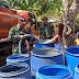 Warga Karangpucung Krisis Air, Babinsa Salurkan Air Bersih