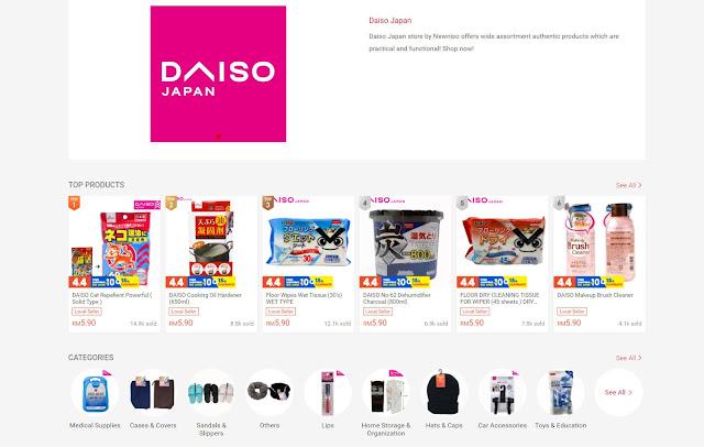 Daiso shopee