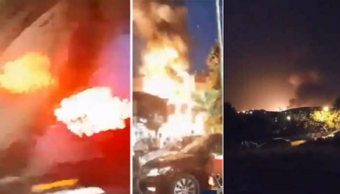 Tehran: 19 people killed in a massive explosion at a medical clinic; Many injured