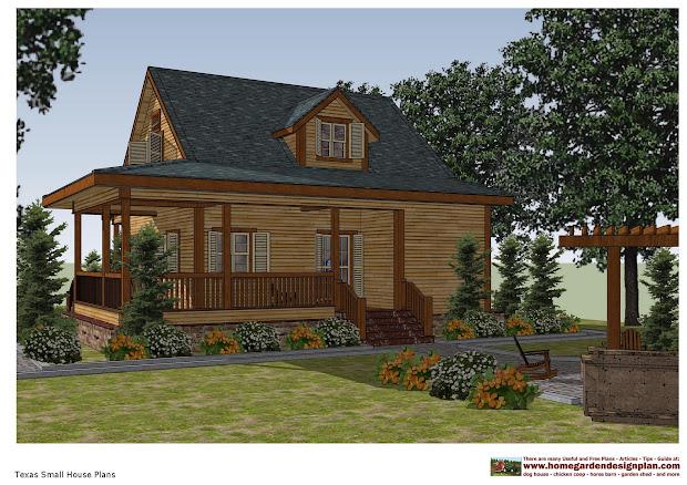 Home Garden Plans Sh100 - Small House