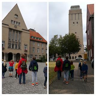 Delmenhorst Wasserturm Rathaus Kinder