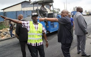 Wike Bullshit Amaechi; Fresh projects Are to be started because you wasted our money On Nothingp