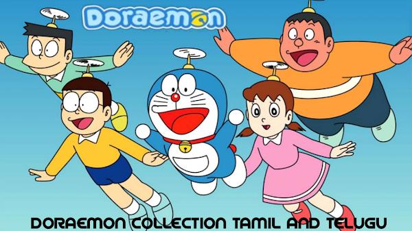 Doraemon Collection's (Tamil And Telugu)
