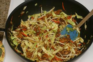 Teriyaki Stir-Fry Chicken and Cabbage