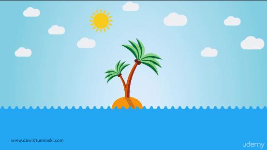 تعلم تقنيات التصميم المسطح الأكثر طلبًا جزيرة الصحراء