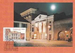 Cinema Roda Kvarn Halmstad postcard 1998