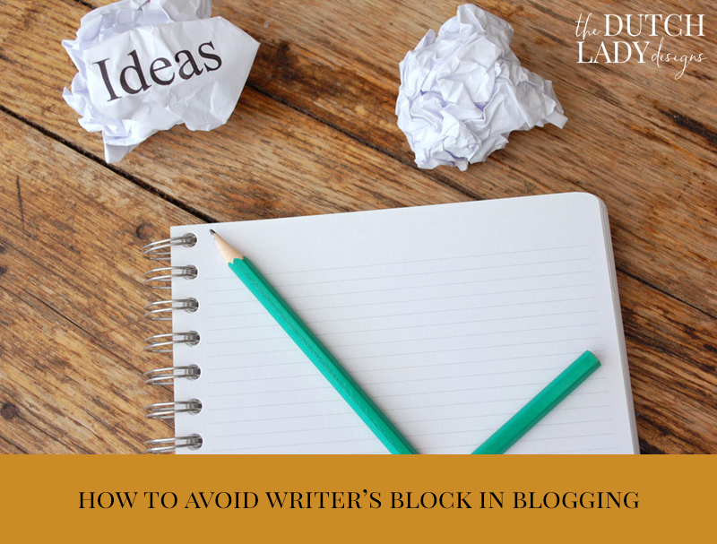 writer's block in blogging