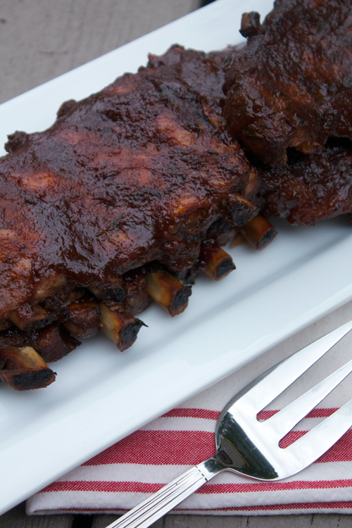 Slow Cooker Barbecue Pork Ribs || A Less Processed Life