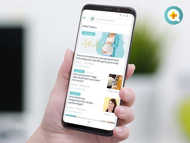 SehatQ Aplikasi Layanan Kesehatan Online