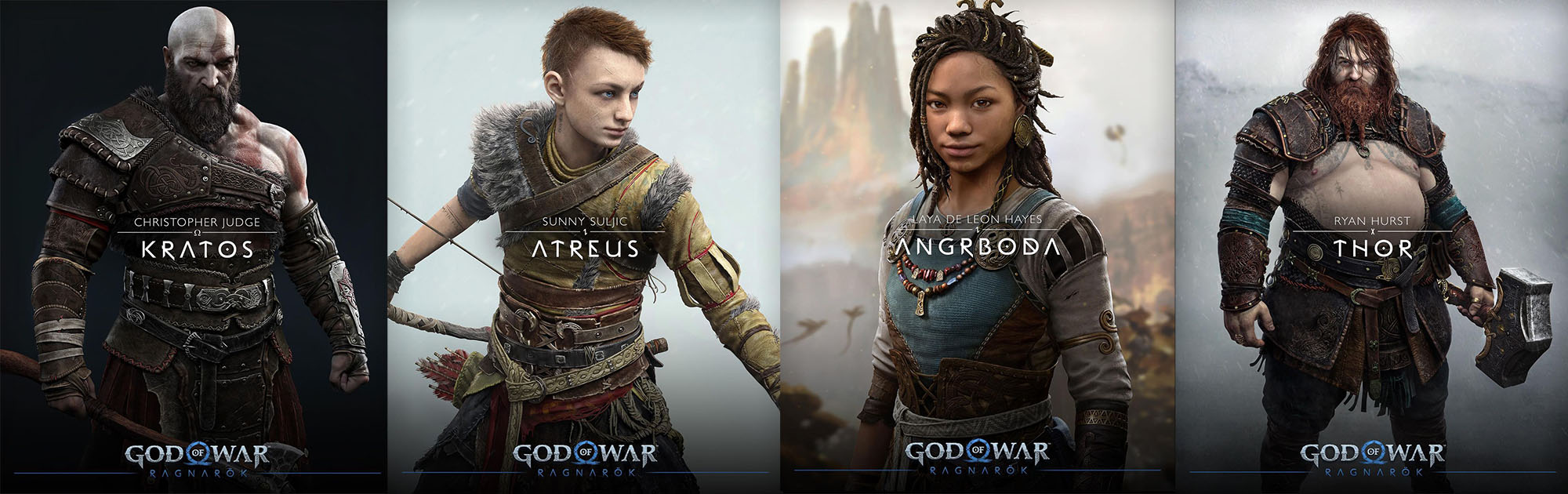 God of War Ragnarok personaggi