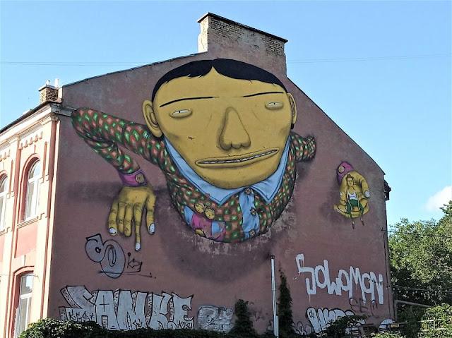 street art os gemeos vilnius