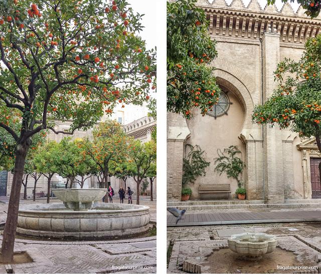 Fontes do Pátio de los Naranjos, Catedral de Sevilha