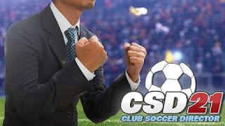 Free Download Game Club Soccer Director 2021 APK MOD Money   Badge