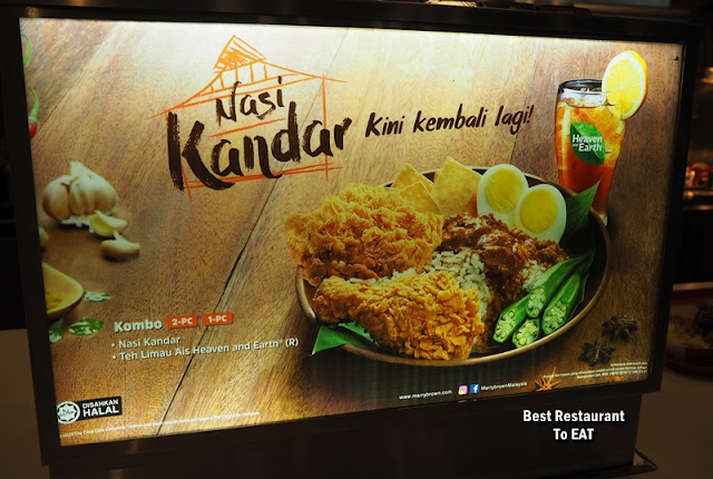 Nasi Kandar MB By Marrybrown is back with Crispy Chicken