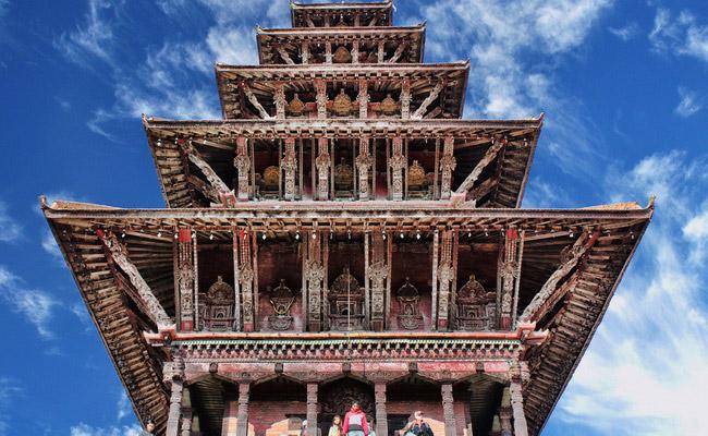 www.xvlor.com Nyatapola Temple is Lakshmi pagoda built by King Bhupatindra Malla