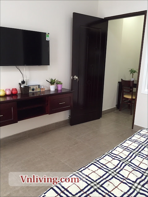 Lexington An Phu apartment for rent 1 bedrooms in block D Thu Thiem Area view