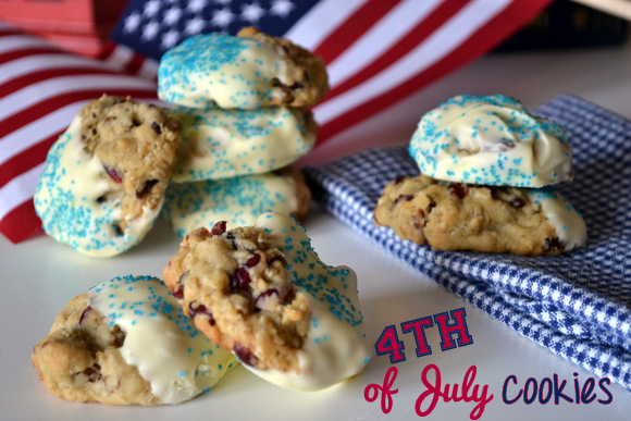 White Chocolate Cranberry Oatmeal Cookies Recipe