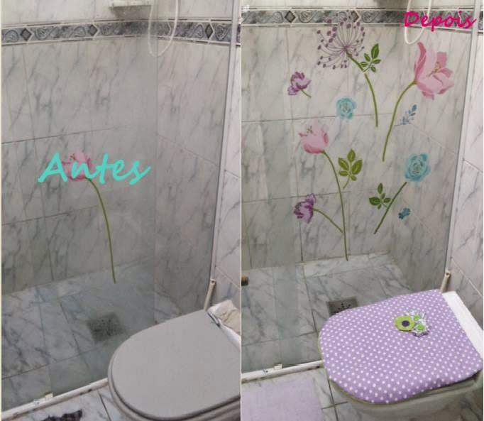 Decoraç u00e3o de Banheiro Simples e Barato! -> Decoração De Banheiro Simples E Barato