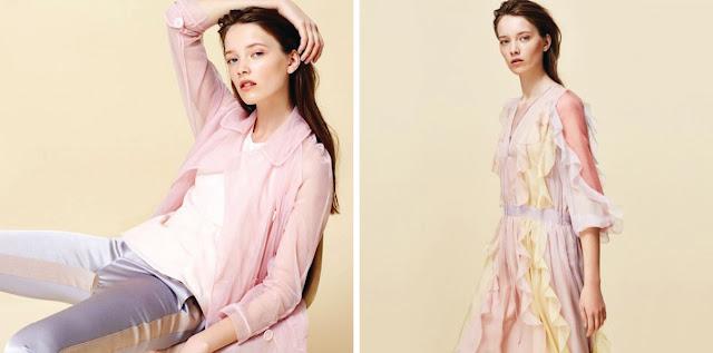 Одежда пастельных цветов