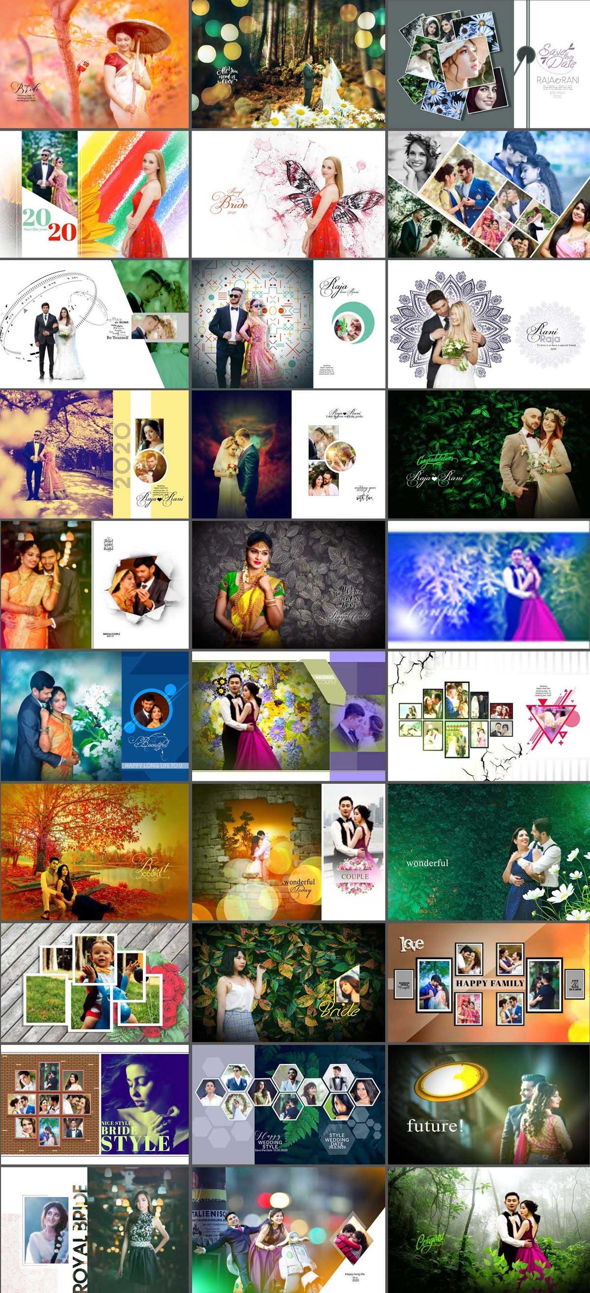Wedding Photo Album Designs