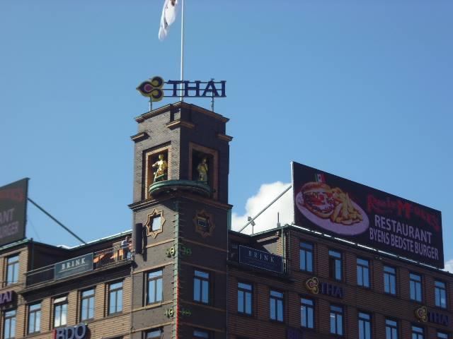 La Chica del Tiempo de la Torre de Richsuset (Copenhague)